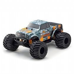 KYO34403T2B - AUTOMODELO KYOSHO 1:10 RC EP RS MONSTER TRACKER 2WD LARANJA RADIO KT232P